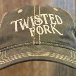 Twisted-Fork-Restaurant-Bar-Port-Charlotte-FL-Merch-Hat-Mens-Oil-Rub-cat
